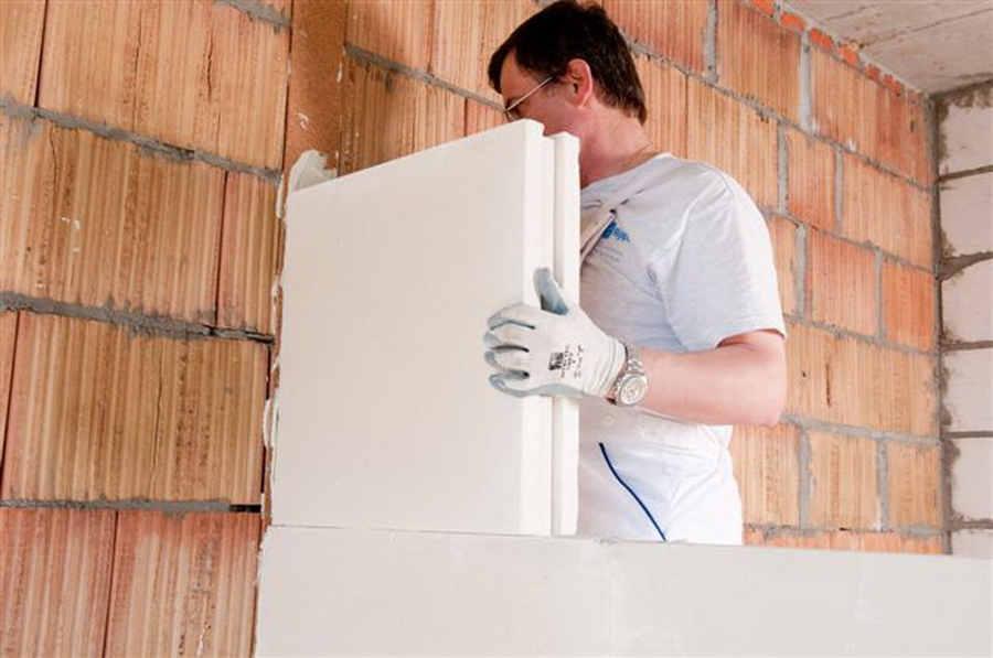 Budowa ściany działowej z bloczków gipsowych / Ścianki działowe